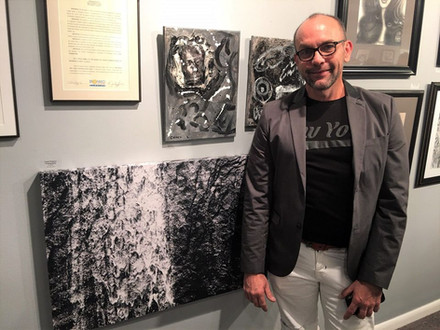 Black & White Art Exhibit