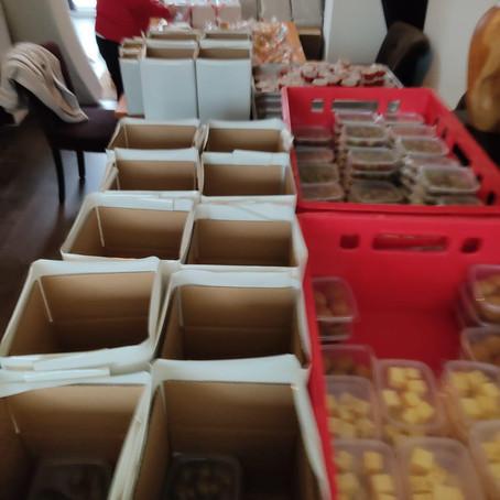 Bijna 1000 tapas pakketten in Zeeuws Vlaanderen