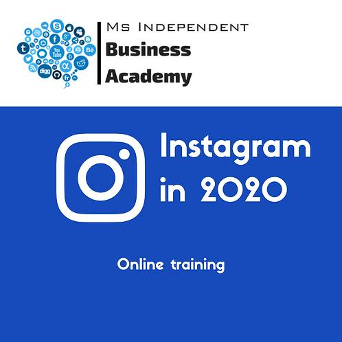 Instagram in 2020