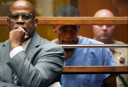 Eric Holder and his former attorney Chris Darden