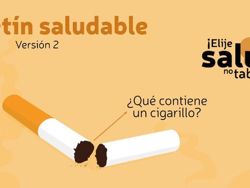 ¡Elige salud no tabaco... No fumes!