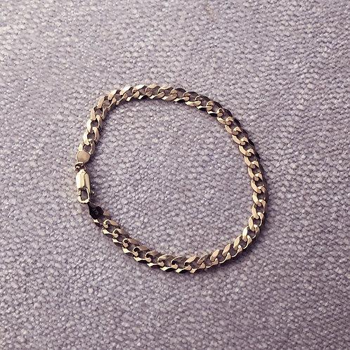 Vintage 9ct Curb Bracelet