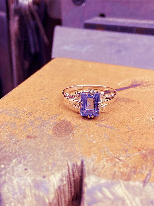 Vintage Topaz Ring