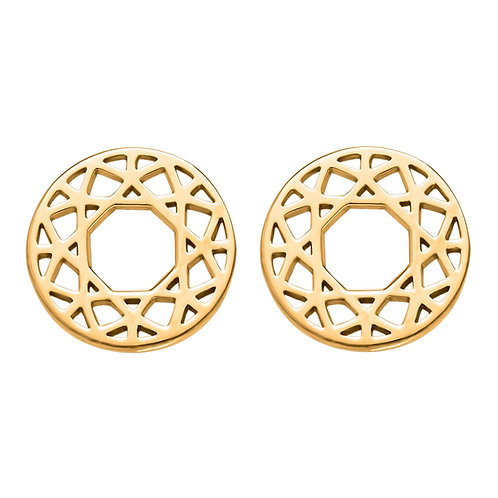 Round Cuts Earring Small