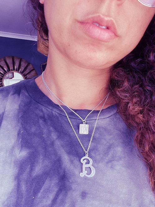 Vintage 'B' Pendant