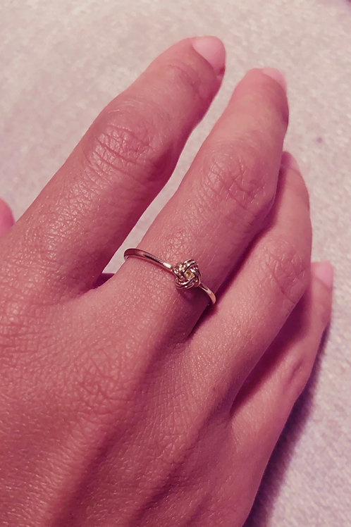 Vintage 9ct 'Love Knot' Ring