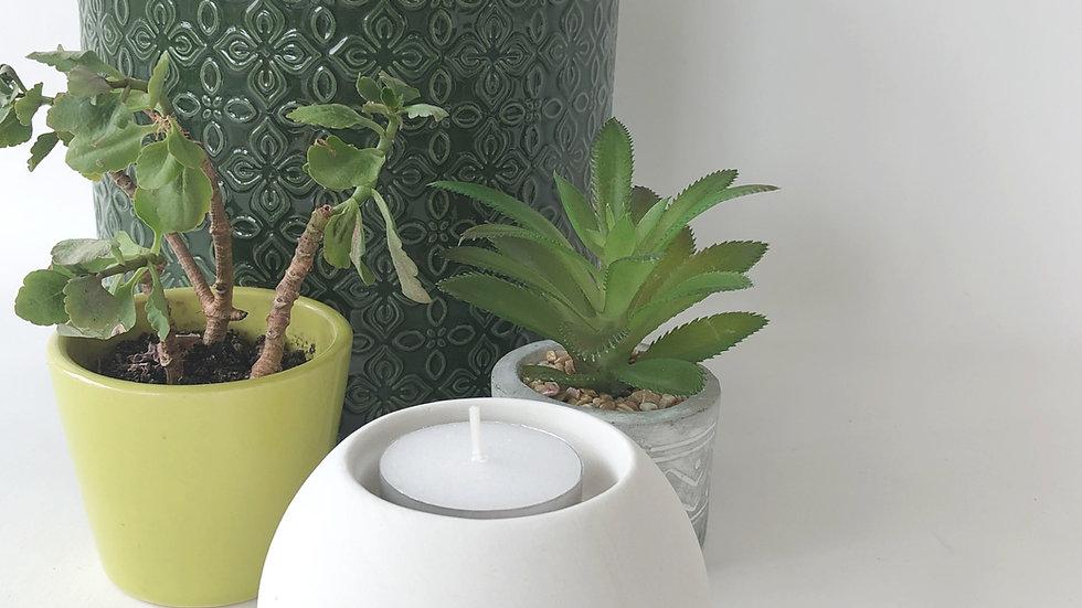 Ceramic Ball Tealight Holder
