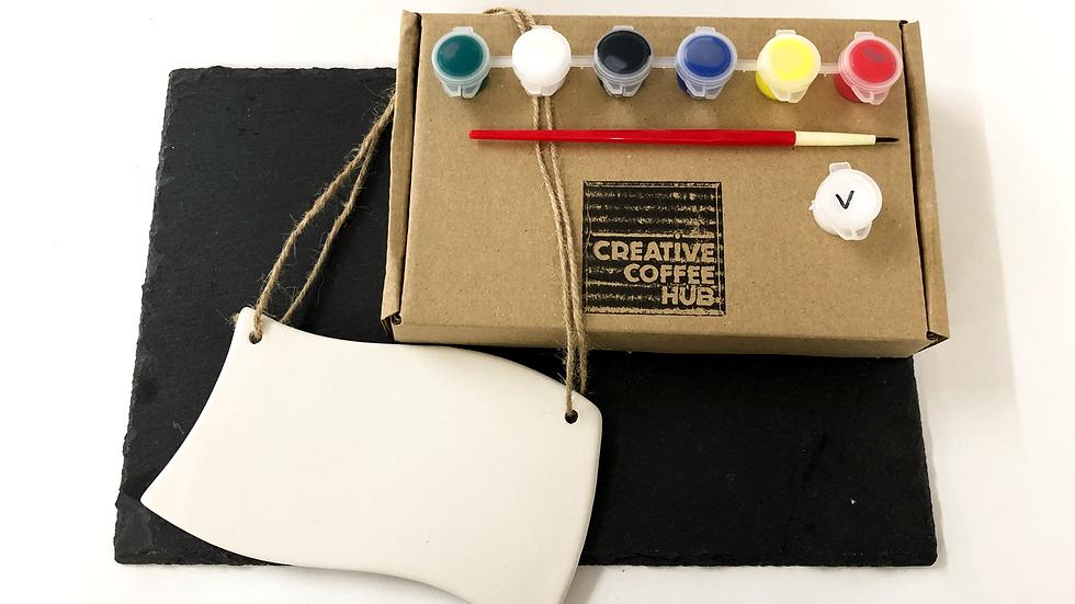 Wavey Plaque Ceramic Kit