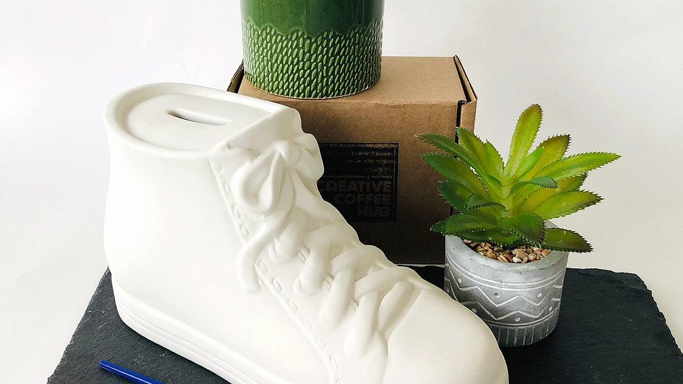 Ceramic Trainer Money Box
