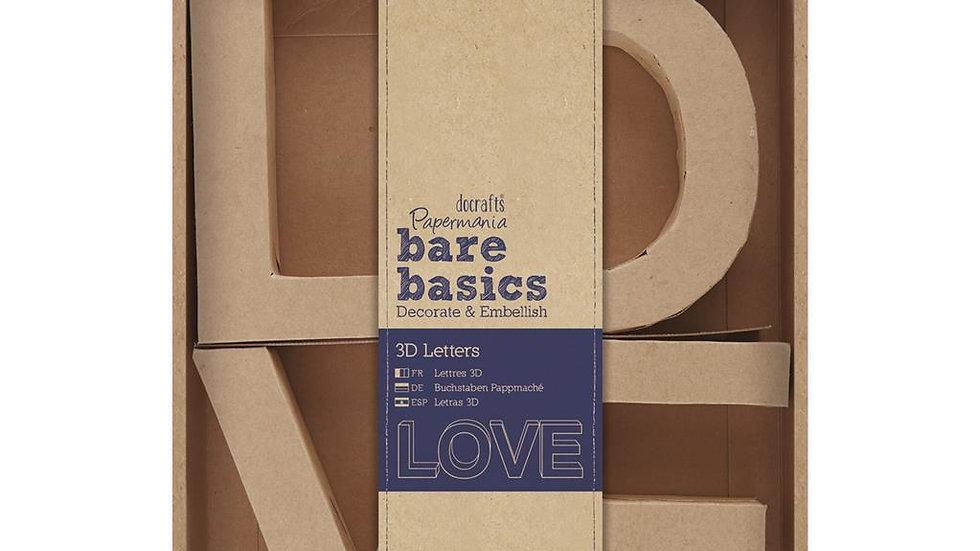 Love 3D Letters 10cm