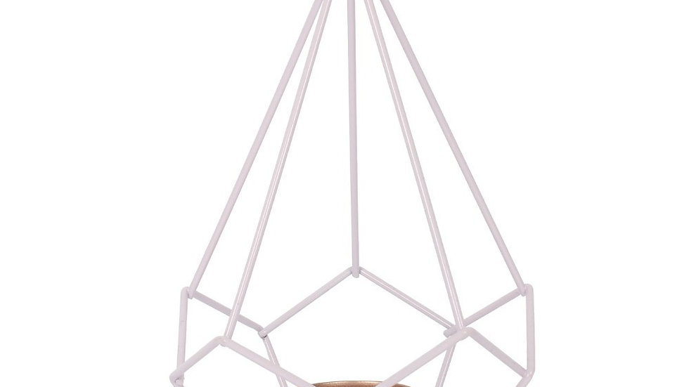 Lilac Wire Tealight Holder