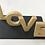 Thumbnail: Love 3D Letters 10cm