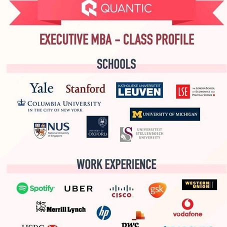Is it worth to apply for an EMBA at Quantic School of Business and Technology?