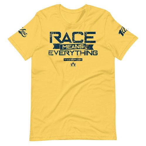RACE SHIRT YELLOW/NAVY