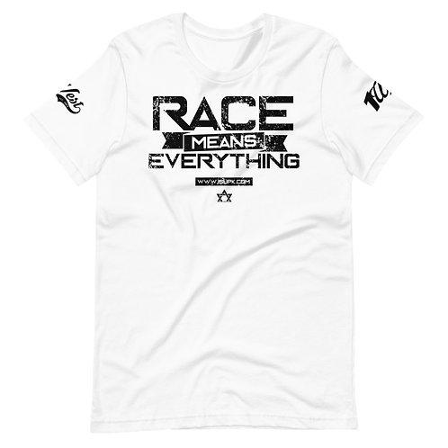 RACE SHIRT WHITE/BLACK