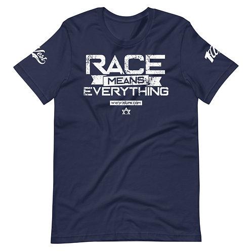 RACE SHIRT NAVY/WHITE
