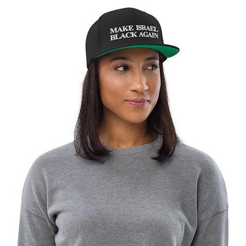 MAKE ISRAEL BLACK AGAIN HAT