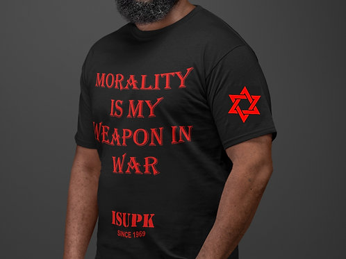 MORALITY IS MY WEAPON