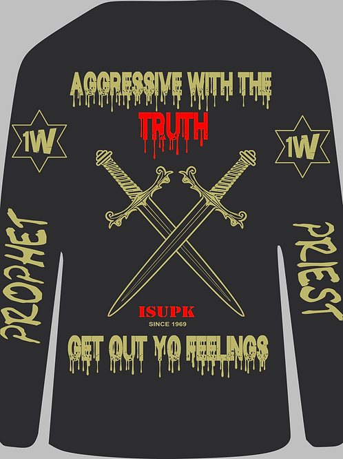 Aggressive with the Truth Long Sleeve Sword Edition