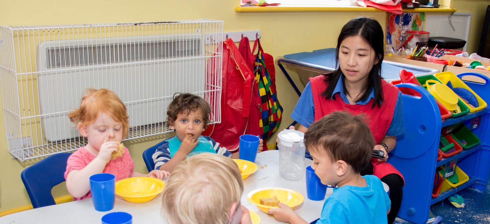 Children's Dinner Time