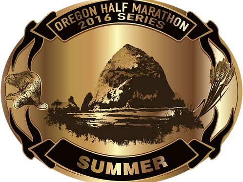 Oregon Summer Half belt buckle