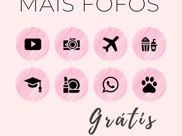Capas para Destaques do Instagram Para Baixar - Rosie