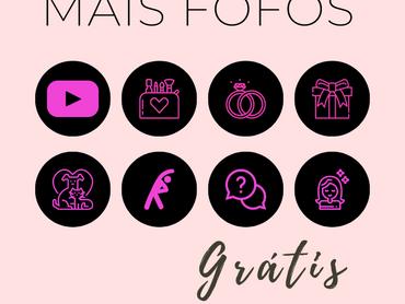 """Capas para Destaques do Instagram Grátis - Tema """"Blackpink"""""""