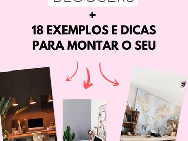 18 Inspirações Incríveis de Home Office para Bloggers   Fashionistas, Masculinos, Rústicos e mais