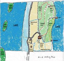 Prairie House Trail Map