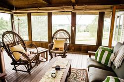 Screened Cedar Porch