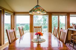 Dine overlooking the prairie
