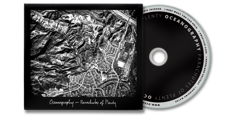 Parachutes of Plenty - 5 Song CD