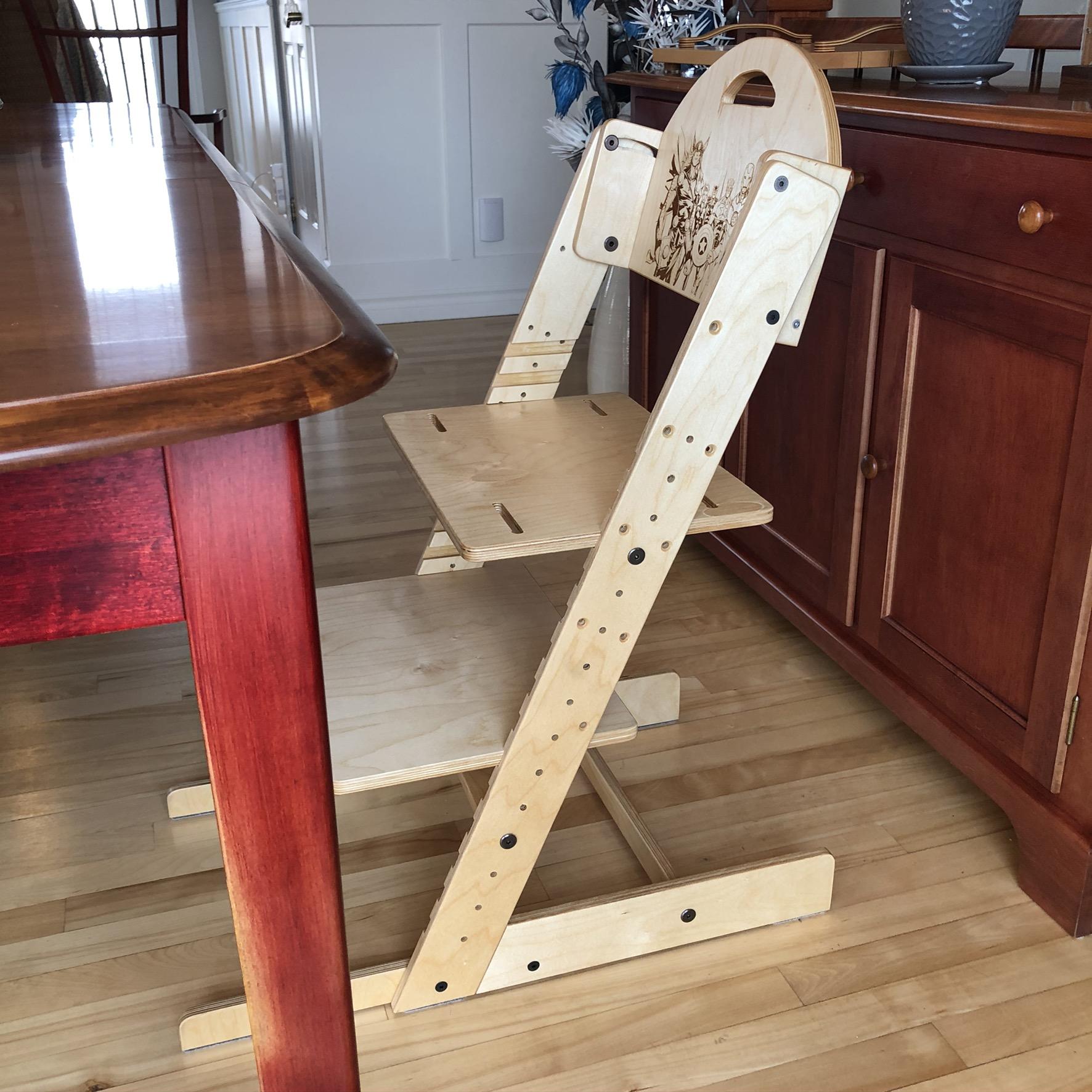 Chaise évolutive pour enfant