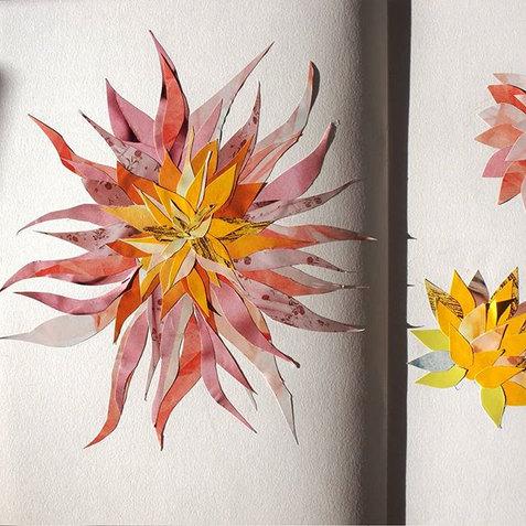 Sketchbook Study- Dahlia