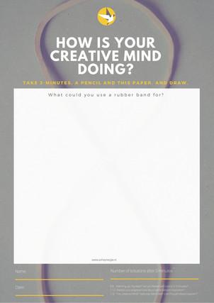 Het creatieve brein in actie