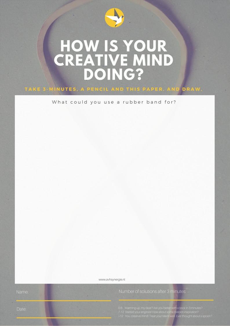 Creatief denken voor ondernemers