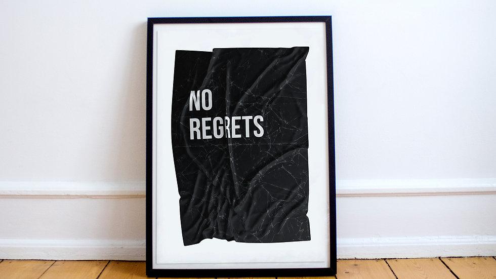 Poster - No regrets