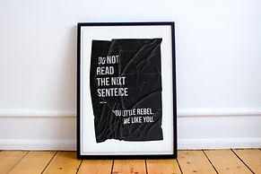 Wrinkled Paper Poster 8 - Shop Image 1.j