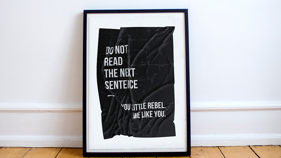Poster - You Little Rebel