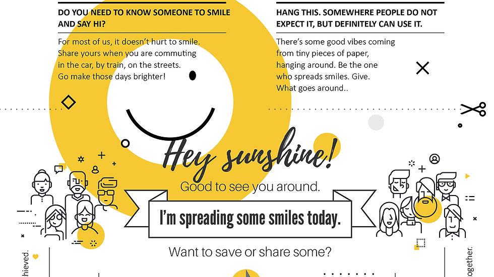 Worksheet - Throwing Smiles Around
