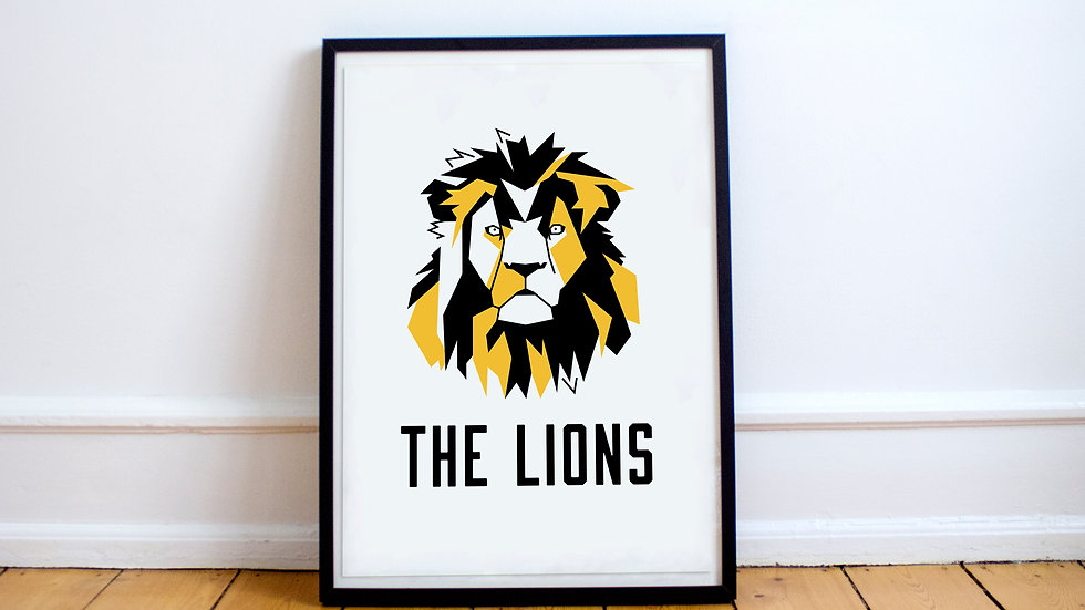 Poster - The Lions