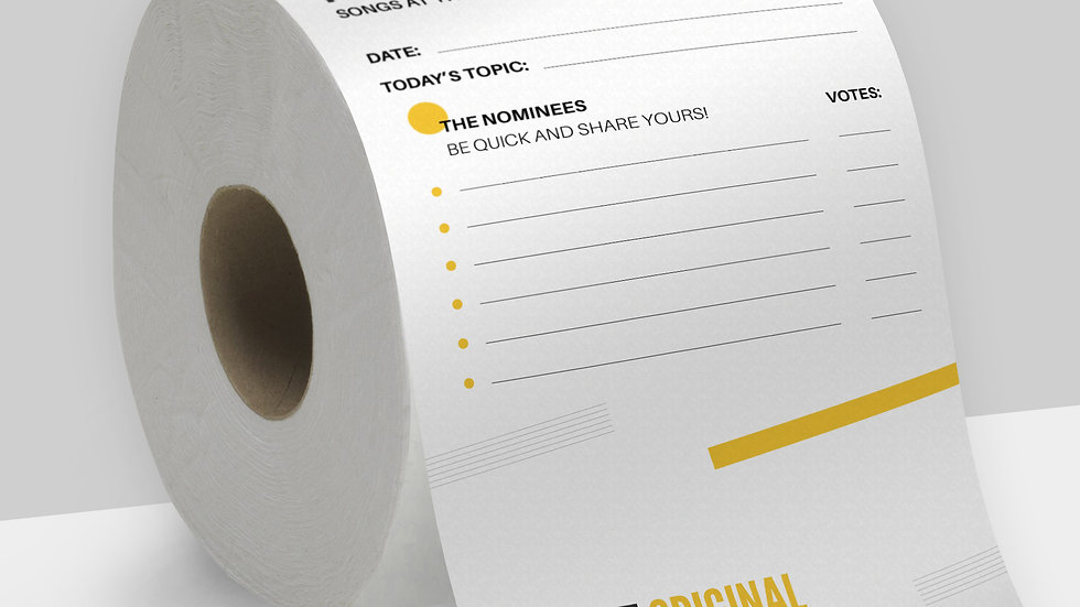Playlist Original - Office Toilet paper