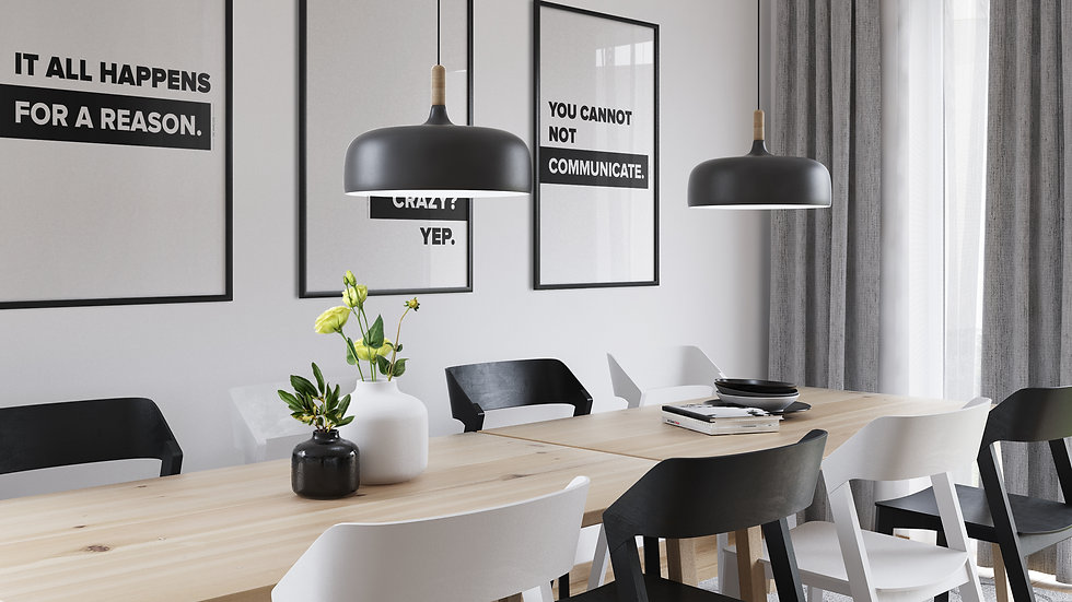 A3 or A2 Office Posters - 3 PACK