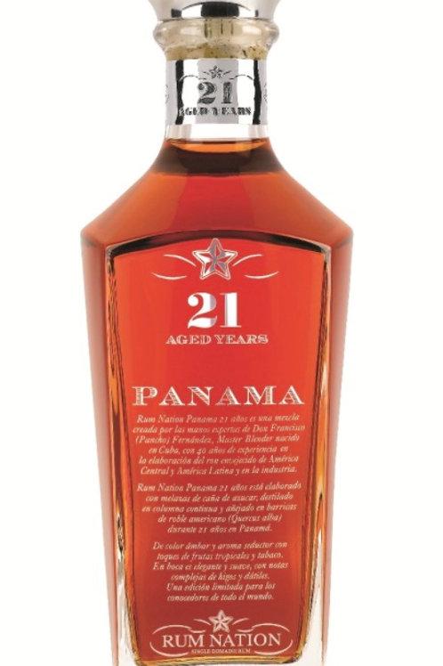 Rum Nation Panama 21yo