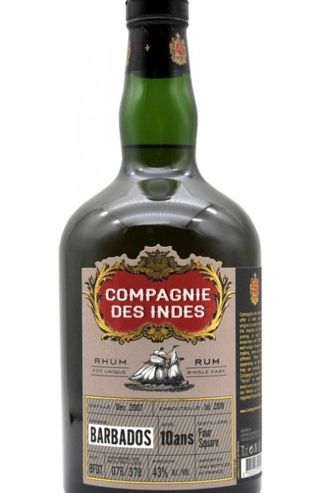 Compagnie des Indes Barbados 10yo - Single Cask