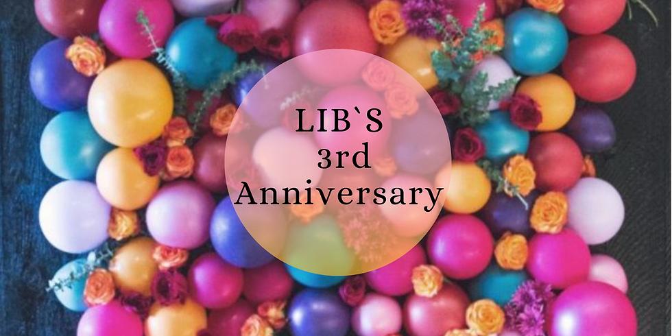 LIB's 3rd Anniversary