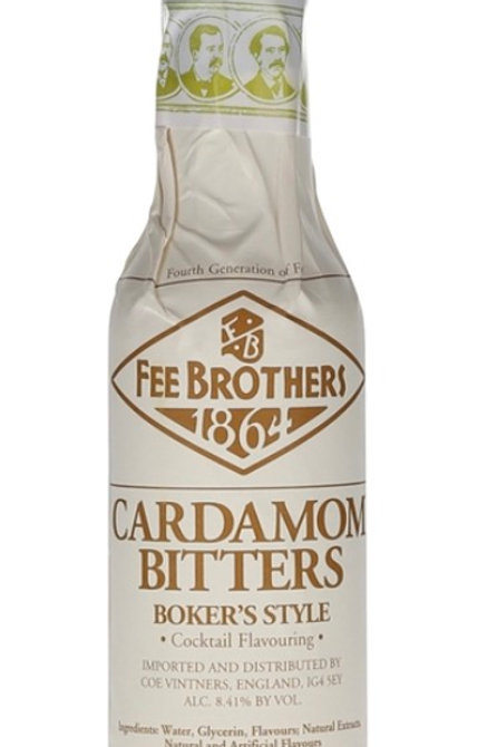 Fee Brothers Cardamom Bitter