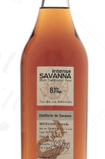 Savanna 8yo Xeres Finish