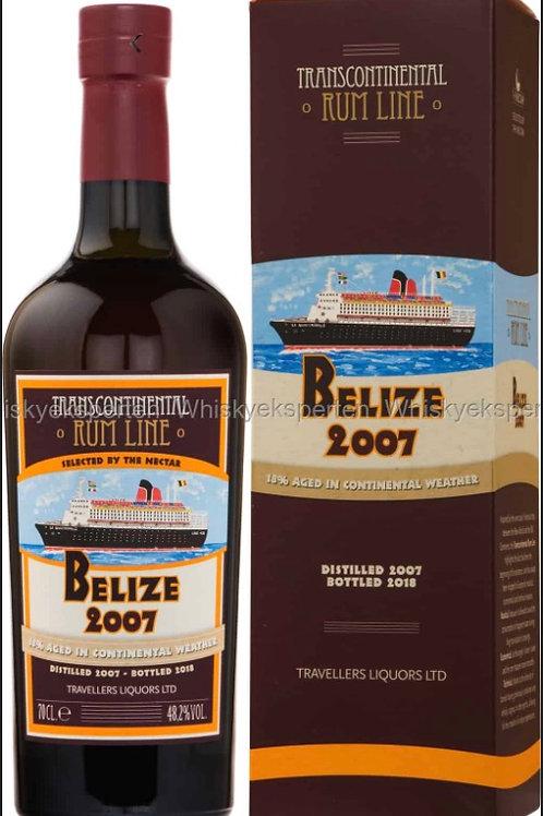 Transcontinental Rum Belize 2007
