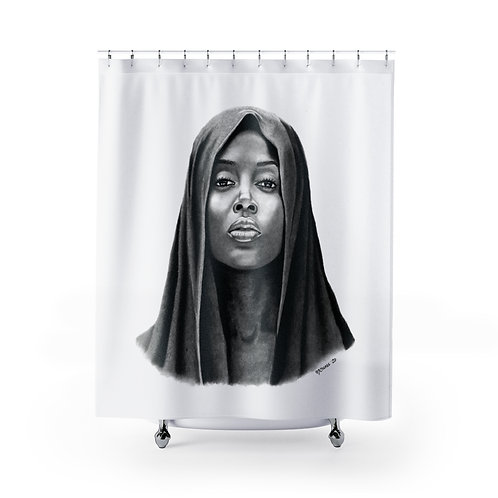 POISED Shower Curtain